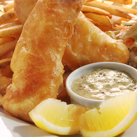 Today's Special - Fish and Chips